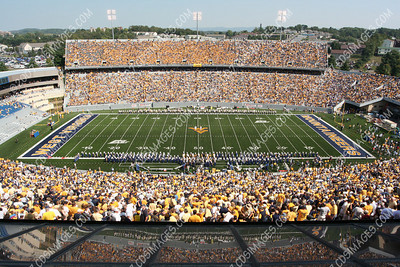 WVU vs East Carolina - Halftime