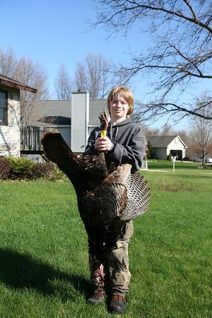 Zach 1st Turkey Hunt