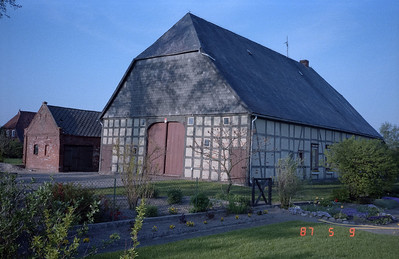 More typical barn buildings of the area.