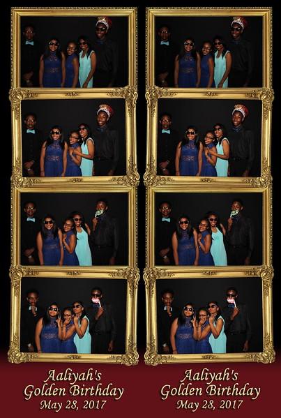 Aaliyah's Golden Birthday (05/28/17)
