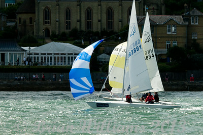 Cowes Week  2013 Day 01