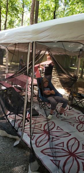 Providence Canyon Camping