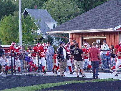 Boys Varisty Football - 9/23/2005 Spring Lake (Homecoming)