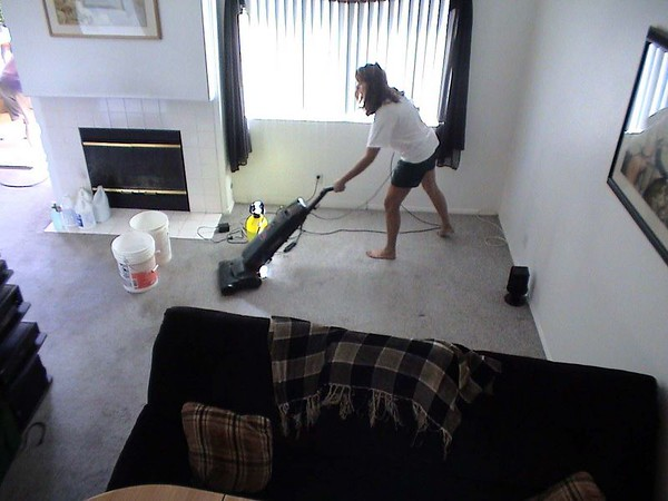 2003/08/02 - Carpet Cleaning