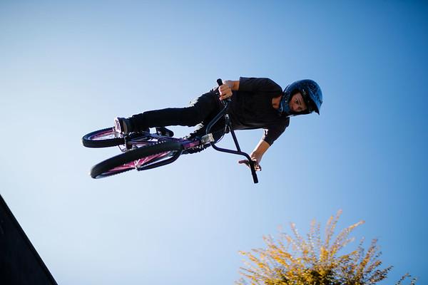 BMX Bikers at Nu Skin