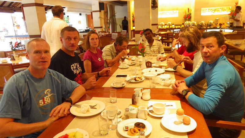 ... and good breakfast at Bali Rani Hotel...
