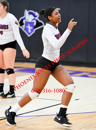 9-5-19 - Northwest Christian vs The Odyssey Institute - Girls Volleyball