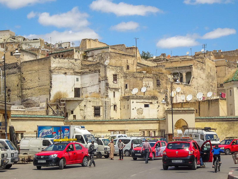 Views of the Fes Medina