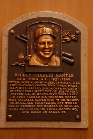 2011 06 28:  Cooperstown NY, Baseball HoF