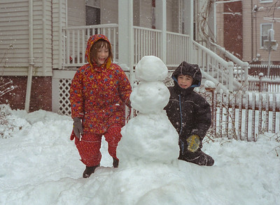 Snow at Home, January 2001