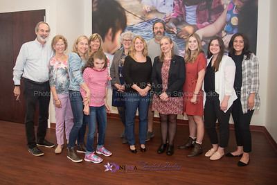 Gill Townend visits the Program for Research and Support for Rett syndrome at Monmouth University