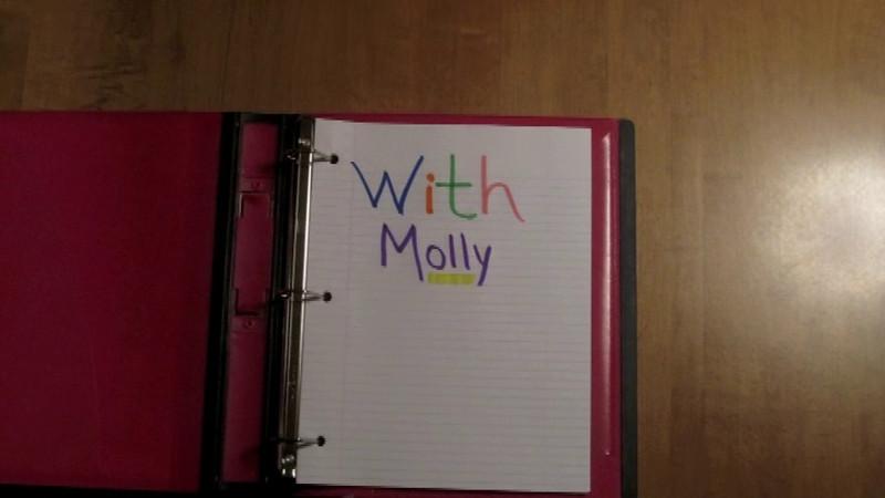 Simone & Molly homework review