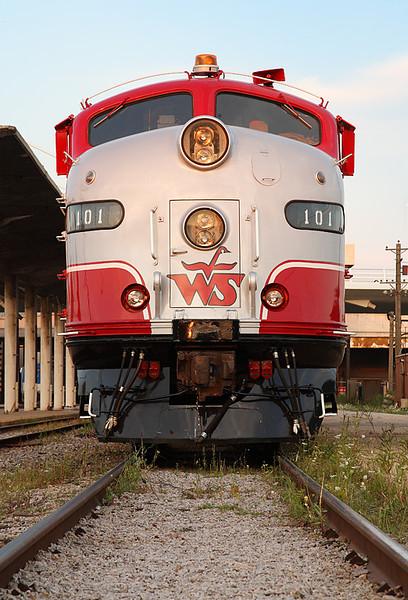 Wisconsin & Southern 101 (EMD E9A) - Milwaukee, WI