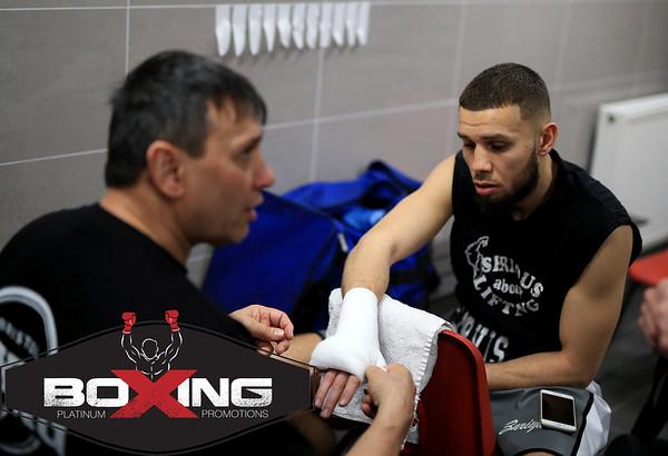 Platinum Boxing: Rise of Reading Logo