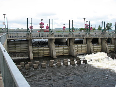 Start of the Chaudiere River