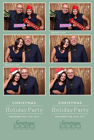 Saratoga Homes Holiday Party
