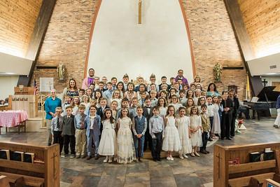 St. Genevieve First Communion 2019