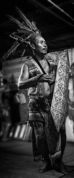 Iban Tribesman