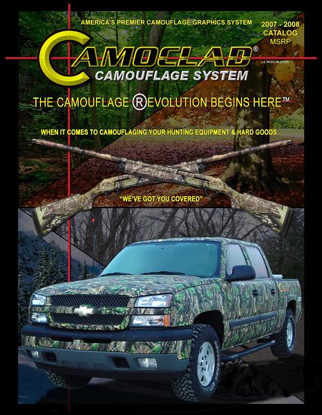 Camoclad Catalog Cover