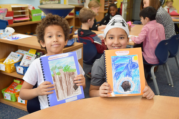 Second Graders Share Complete Chesapeake Bay Animal Reports