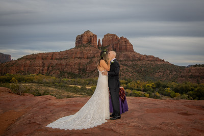 Jennifer & Trevor's Sedona Wedding
