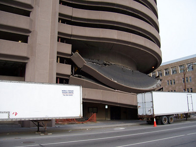 South Avenue Garage Collapse & Reconstruction
