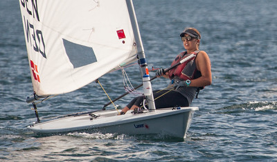 August 13th Laser Sailing