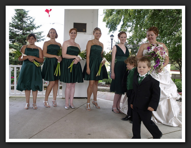 Bridal Party Family Shots at Stayner Gazebo 2009 08-29 013 .jpg