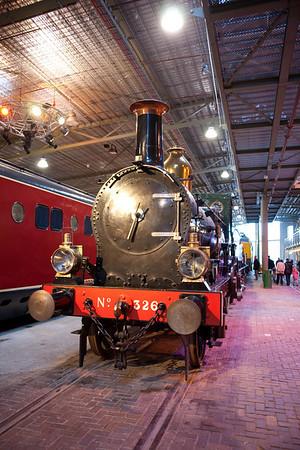 SADD Spoorweg museum
