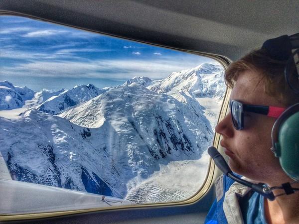 Day 6: Talkeetna, Denali Flight Wow, Train to Anchorage