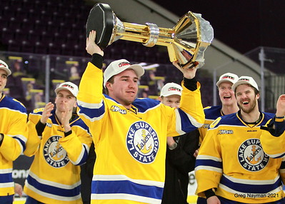 WCHA Championship 2021 Lake Superior Celebration by GMN
