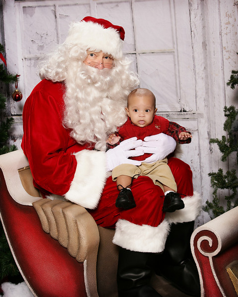 Santa Portraits @ Oops Alley 12-18-10