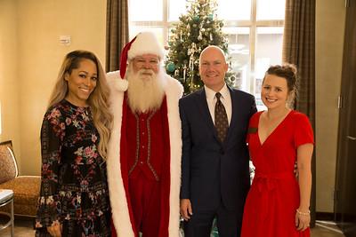 Santa Breakfast at Tiffany in Fashion Valley Mall 12-01-2018
