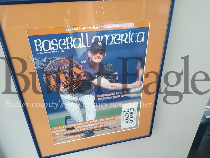 matt clement baseball america cover photo 3