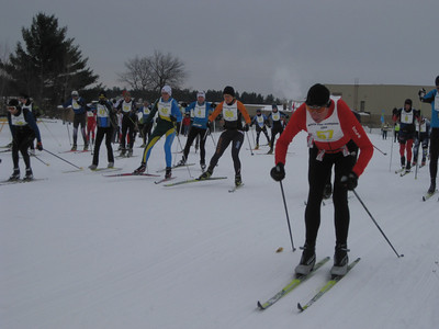 2014-02-01 White Pine Stampede 50K Start photos by Mike Muha