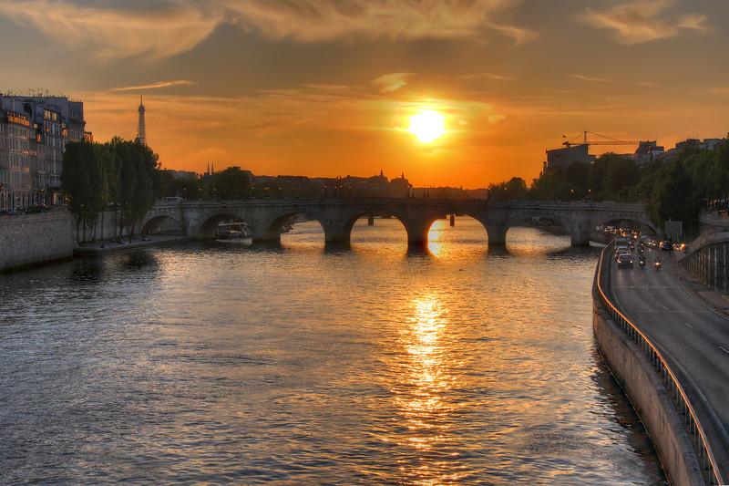 Pont Neuf - Paris, France - April 21, 2011