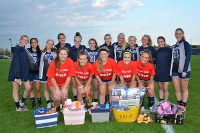 OE Girls Varsity Soccer Vs Joliet Central (Senior Night 2019)