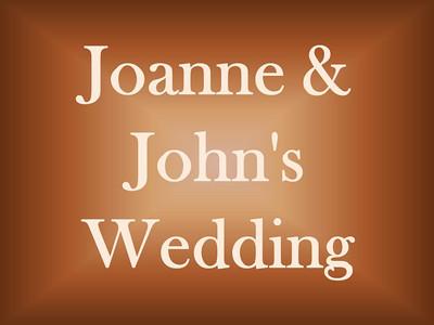 Joanne and John's Wedding