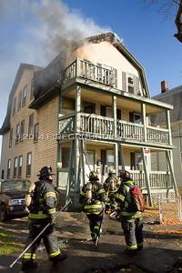 Myrtle Ave. Fire (Bridgeport, CT) 11/19/14