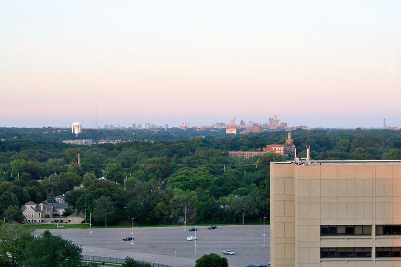 Sunset over Milwaukee