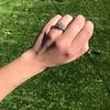 2.10ct Art Deco Peruzzi Cut Diamond Ring, GIA W-X SI2 7