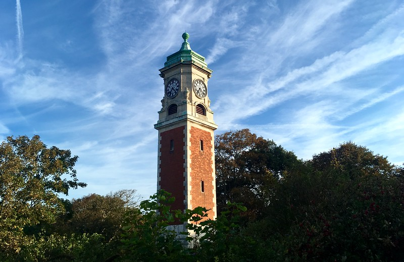 Queen's Park clock tower