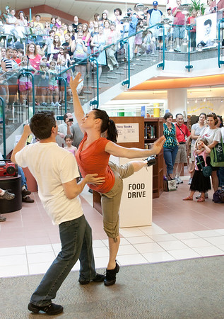 Flash mob - Central Library