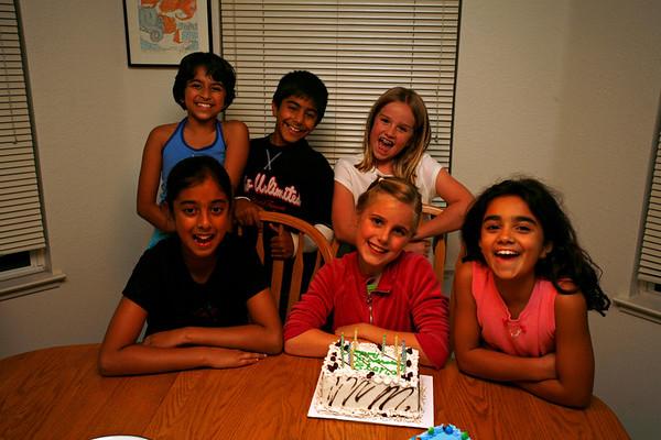 Elena's 10th Birthday Slumber Party