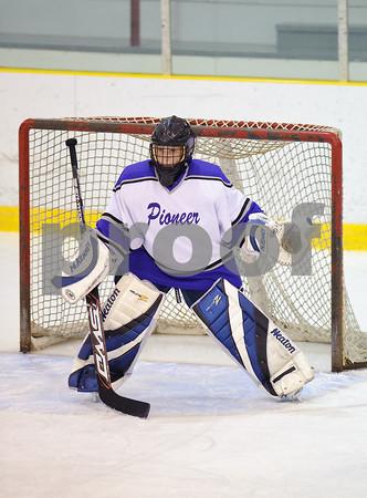 12/2/2009 - Girls Varsity Hockey - Pioneer vs Walled Lake Wild
