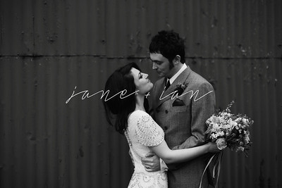 Jane + Ian | A vintage-inspired romantic and rustic wedding at Dalduff Farm, Scotland