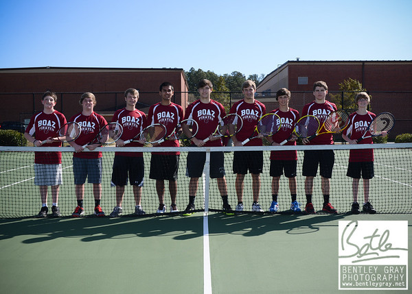 BHS Tennis 2013 Team Pictures