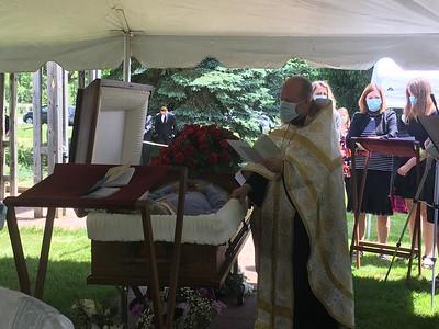 Nick Vlisides Funeral