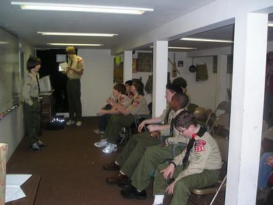 Troop Meeting - Mar 7