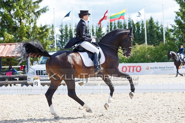 Baltic Dressage League  Estonia 2016
